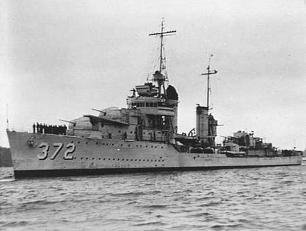 USS Cassin (DD-372) FileUSS Cassin DD372 at Sydney in 1941jpg Wikimedia Commons
