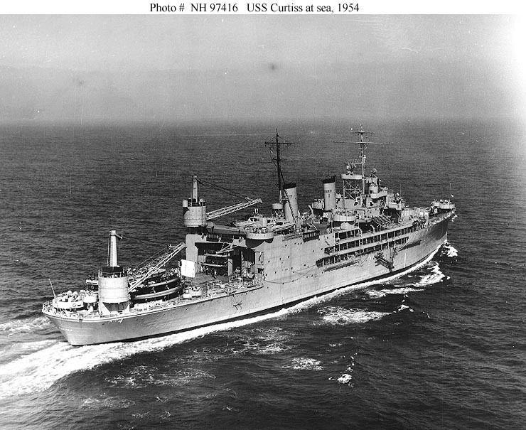USS Curtiss (AV-4) USN ShipsUSS Curtiss AV4