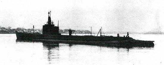USS Grenadier (SS-210) Grenadier i SS210 of the US Navy American Submarine of the