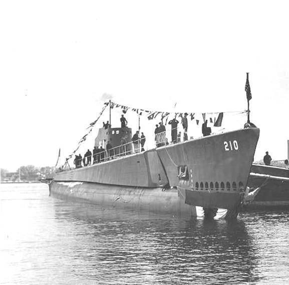 USS Grenadier (SS-210) Purple Heart Austin War Stories Charles H Tim McCoy