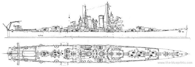 USS Helena (CL-50) Premium Ship Suggestion USS St Louis CL49USS Helena CL50