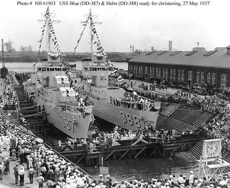 USS Helm (DD-388) Naval Warfare USS Helm DD388