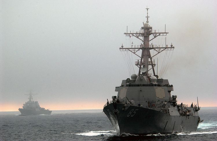 USS McCampbell FileUSS MCCAMPBELL DDG 85 and USS DECATUR DDG 73 prepare to