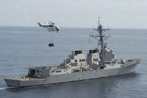USS McCampbell USS McCAMPBELL DDG85 Deployments amp History