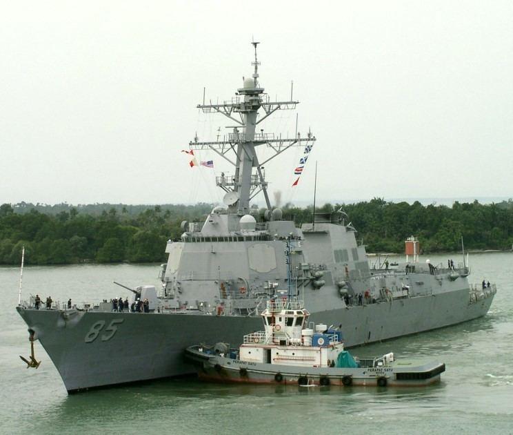 USS McCampbell MaritimeQuest USS McCampbell DDG85 Page 1
