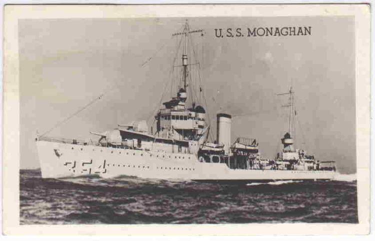 USS Monaghan (DD-354) Monaghan USS Monaghan