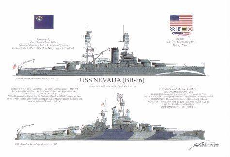 USS Nevada (BB-36) USS Nevada BB36