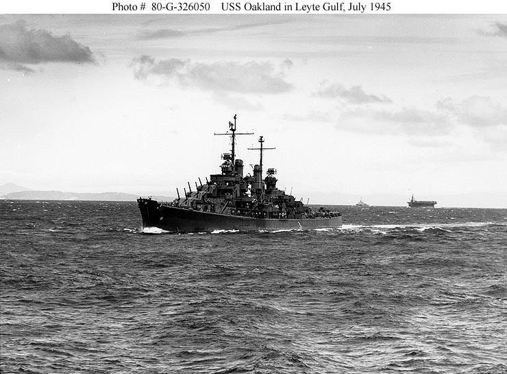 USS Oakland (CL-95) FileUSS Oakland CL95jpg Wikipedia