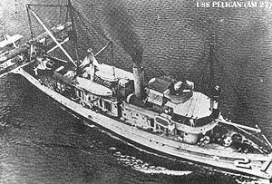 USS Pelican (AM-27) httpsuploadwikimediaorgwikipediacommonsthu