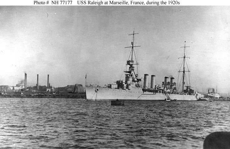 USS Raleigh (CL-7) August 16 Focus USS Raleigh CL7 Battleship Era World of