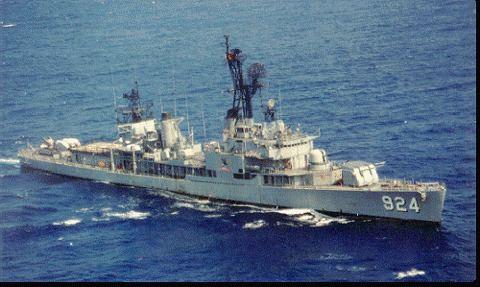 USS Richard B. Anderson (DD-786) USS RICHARD B ANDERSON DD786 ROC Ship Kai Yang