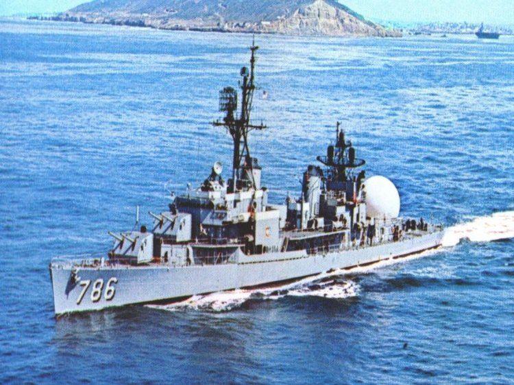 USS Richard B. Anderson (DD-786) USS RICHARD B ANDERSON DD786 Gallery Galleries