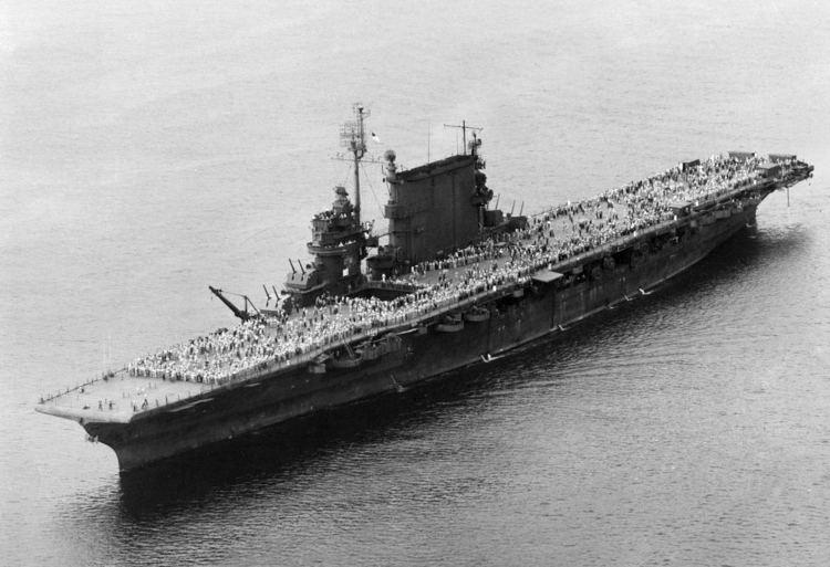 USS Saratoga (CV-3) Lexington Class USS Saratoga CV3 during last Magic Carpet run