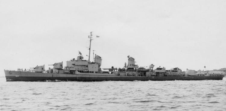 USS Sarsfield (DD-837) USS Sarsfield DD837 Wikipedia