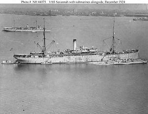 USS Savannah (AS-8) httpsuploadwikimediaorgwikipediaenthumb7