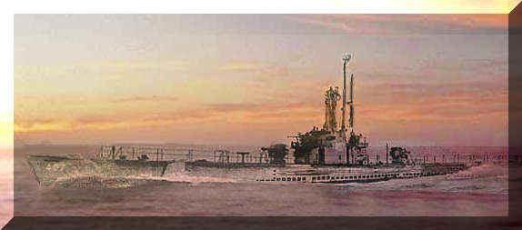 USS Sea Robin (SS-407) wwwss407netimagesfleetcolorbeveledjpg