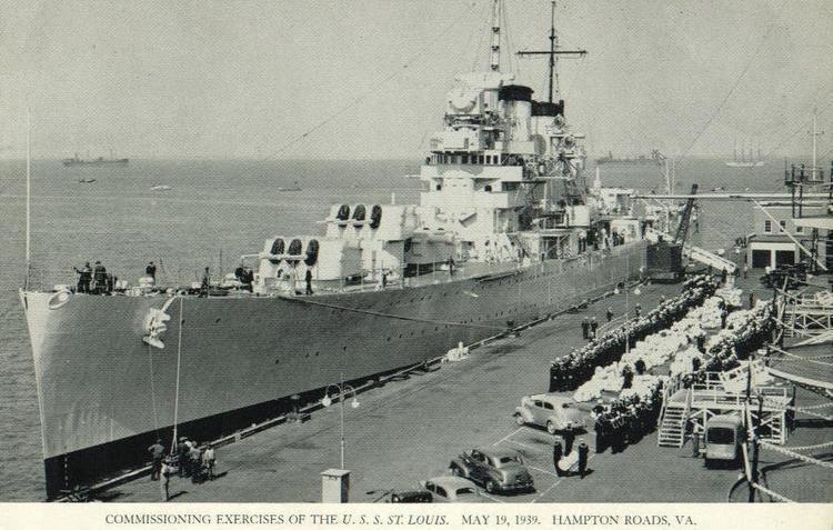 USS St. Louis (CL-49) USS St Louis CL49 Association