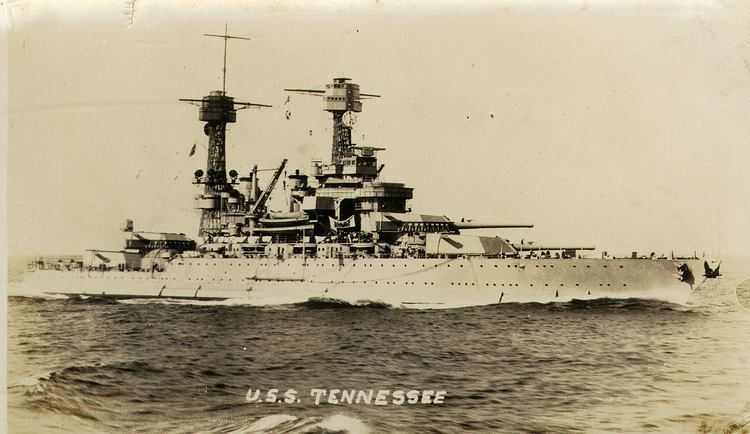 USS Tennessee (BB-43) FileUSS Tennessee BB43 1930sjpg Wikimedia Commons