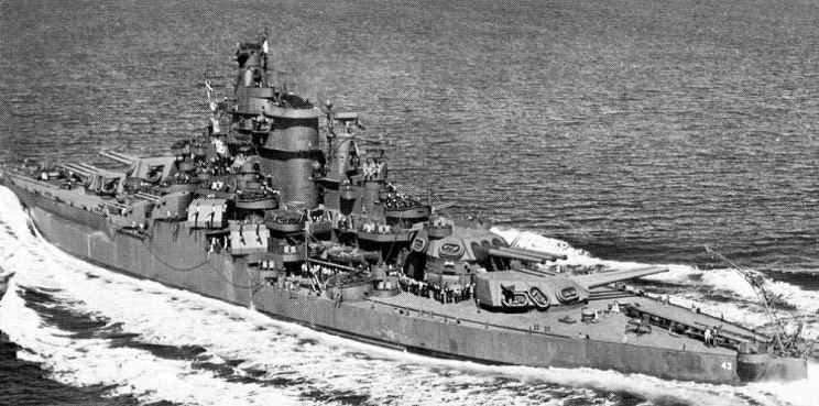 USS Tennessee (BB-43) USS Tennessee BB43 Weapons and Warfare