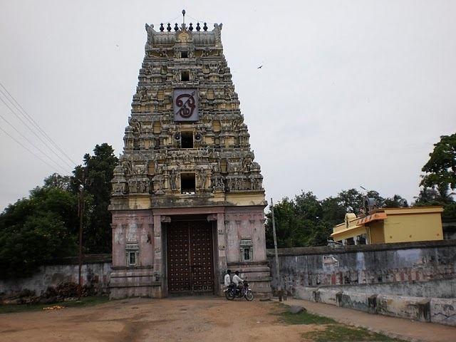 Uthiramerur TEMPLES IN AND AROUND UTHIRAMERUR Old Temples