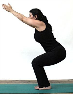 Utkatasana The Health Benefits of Utkatasana Chair Pose CNY Healing Arts