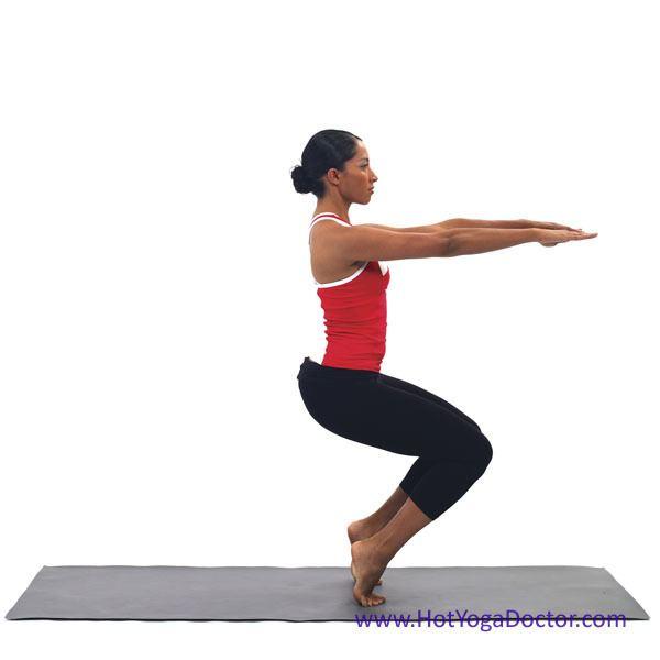 Utkatasana Utkatasana Awkward Hot Yoga Doctor