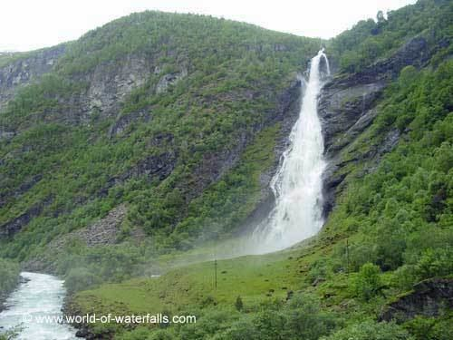 Utladalen Vettisfossen and the Utladalen Waterfalls Ardal Sogn og Fjordane