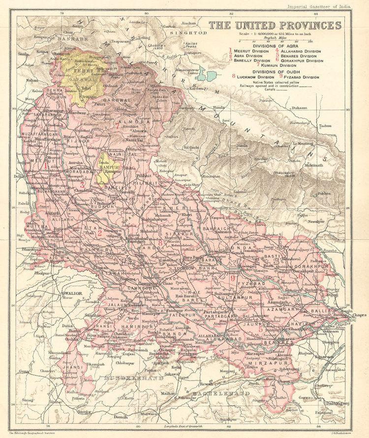 Uttar Pradesh in the past, History of Uttar Pradesh