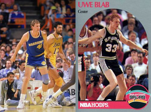Uwe Blab The Spurs and Warriors Swap Chris Welp and Uwe NBA Trades