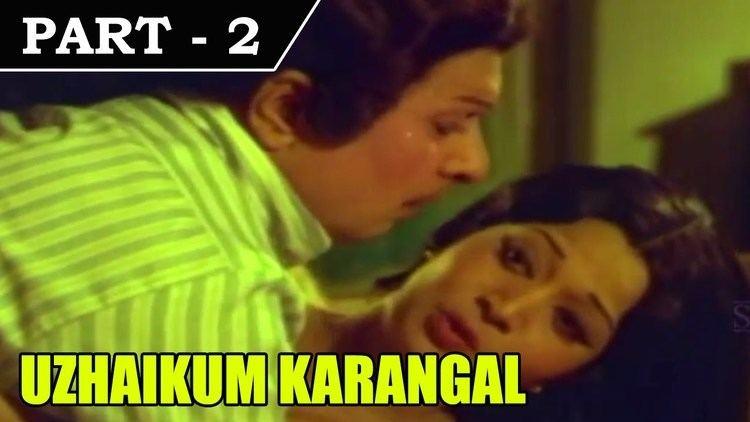 Uzhaikkum Karangal Uzhaikkum Karangal 1976 Tamil Movie Part in 2 15 MGR
