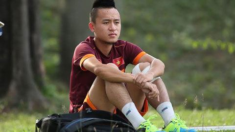 Võ Huy Toàn Tin v Huy Ton bun b ri U23 Vit Nam Bongdaplusvn
