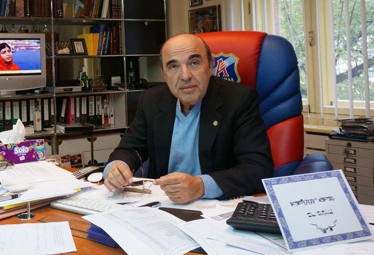 Vadim Rabinovich Shrugging off assassination attempt and critics Vadim