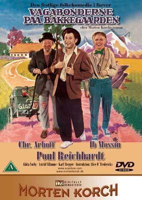 Vagabonderne på Bakkegården Vagabonderne paa Bakkegaarden DVD Laserdiskendk salg af DVD