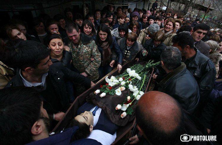 Vagharshak Grigoryan Serge on Twitter Funeral of 12 year old child Vagharshak Grigoryan