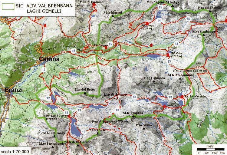 Val Brembana SIC5 Alta Val Brembana Laghi Gemelli