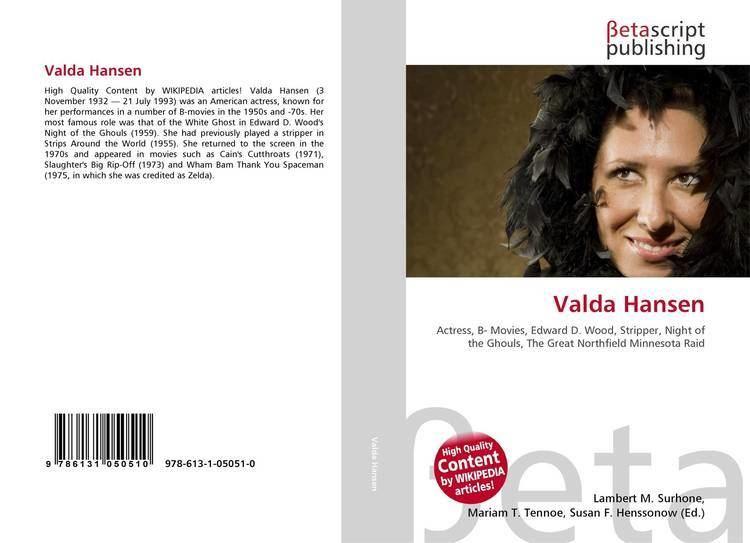 Valda Hansen Valda Hansen 9786131050510 6131050511 9786131050510