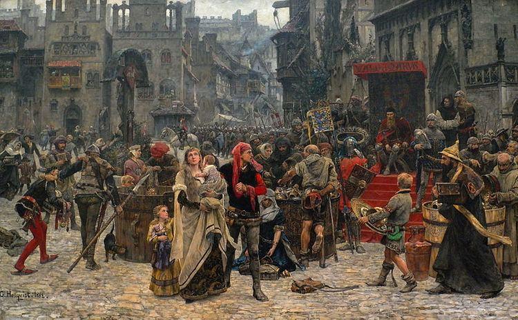 Valdemar Atterdag holding Visby to ransom, 1361 uploadwikimediaorgwikipediacommonsthumbdd0