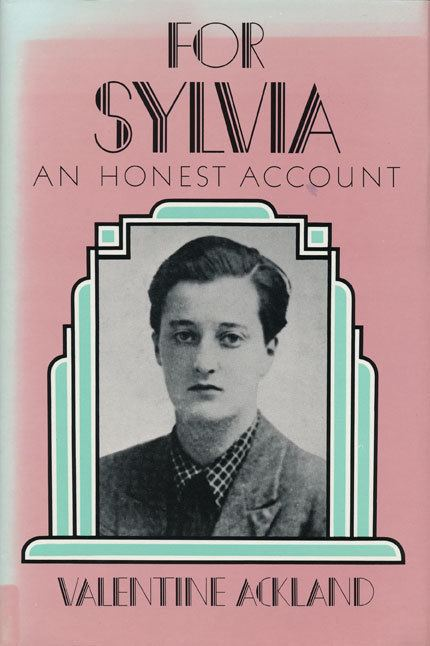 Valentine Ackland For Sylvia An Honest Account Valentine Ackland First