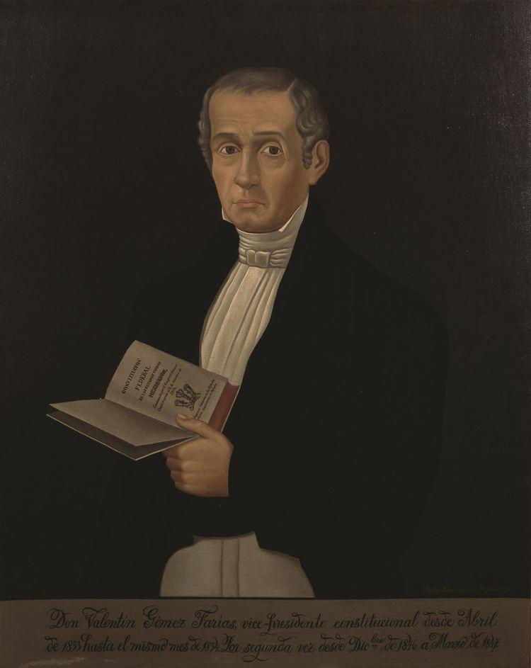 Valentín Gómez Farías WikiMexico Gmez Faras Valentn 17811858