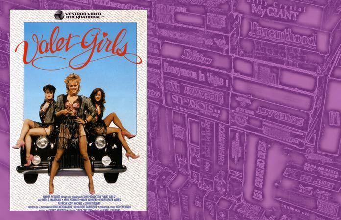 VHS Visions Valet Girls 1987 Popshifter