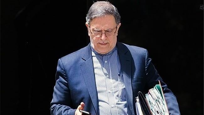 Valiollah Seif PressTVIran following US plan to seize assets