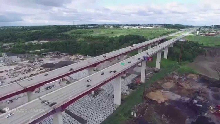 Valley View Bridge Valleyview Bridge I480 Dji phantom 3 pro YouTube
