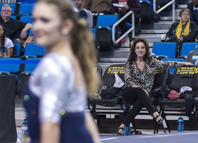 Valorie Kondos Field Gymnastics coach Valorie Kondos Field forges recruiting legacy