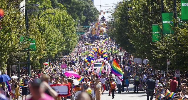 Vancouver Pride Festival Countdown to Vancouver Pride Festival 2014 Is On