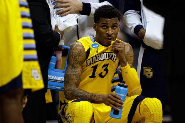Vander Blue Vander Blue entering the draft hurts Marquette39s chances