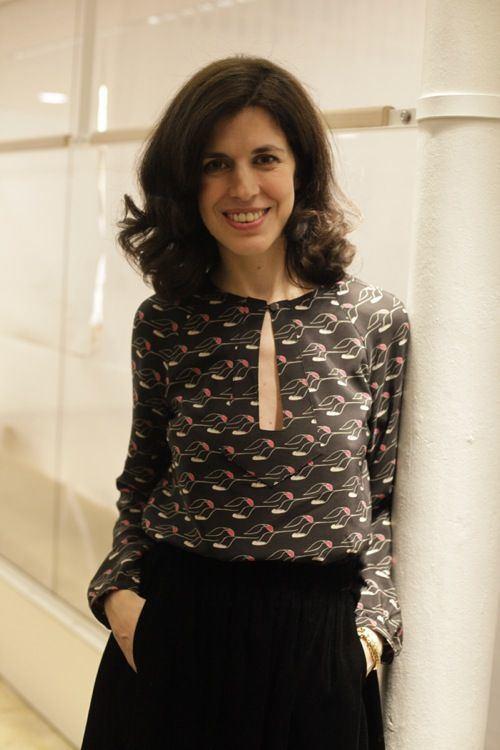 Vanessa Seward Such a lovely blouse Vanessa SEWARD at the winter