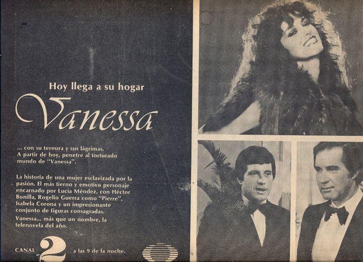 Vanessa (telenovela) Lucia Mendez Vanessa