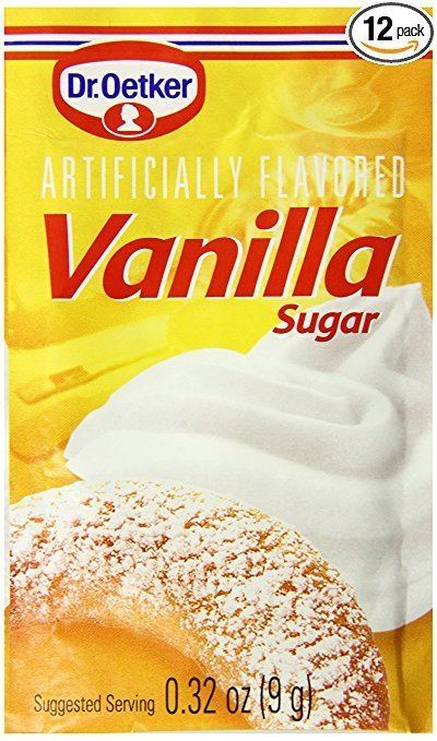 Vanilla sugar Amazoncom Dr Oetker Vanilla Sugar 32Ounce Pack of 12