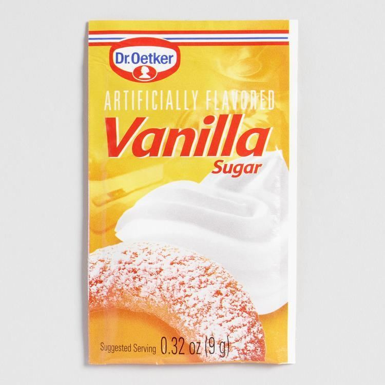 Vanilla sugar Dr Oetker Vanilla Sugar Set of 4 World Market