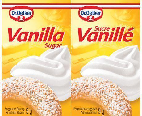 Vanilla sugar Dr Oetker Vanilla Sugar Walmartca